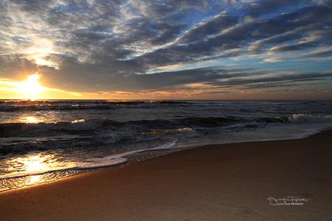 Ocean Sunrise Jennifer Triplett